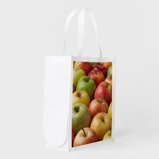 Apples - Ripe & Colorful Reusable Grocery Bag