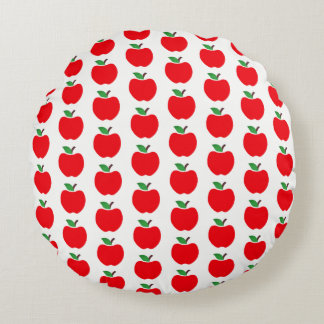 Apples Round Pillow