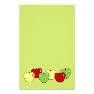 Apples Stationery