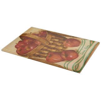Apples Still Life - Cutting Board