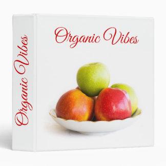 Apples Vinyl Binder