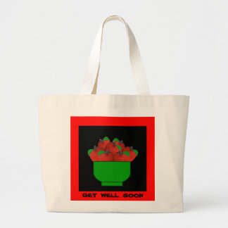Apples (Washington) Large Tote Bag