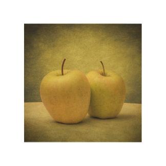 Apples Wood Wall Decor