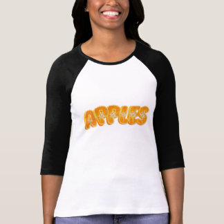 Apples written with yummy Oranges T-Shirt