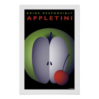 Appletini (Small Poster) Poster