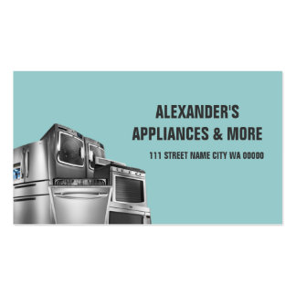 Appliance repair business cards 93 business card templates for Appliance repair business cards
