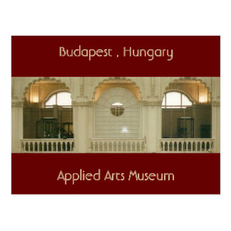 Applied Arts Museum Postcard