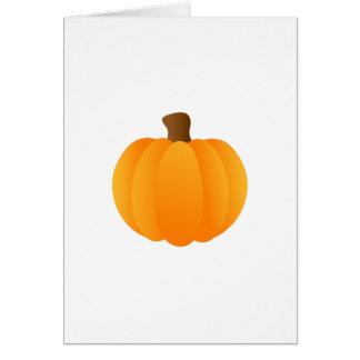 Applique Pumpkin Greeting Card