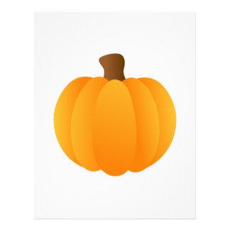 Applique Pumpkin Custom Letterhead
