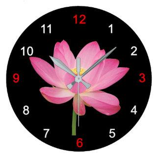 Applying clock of ancient lotus, No.02