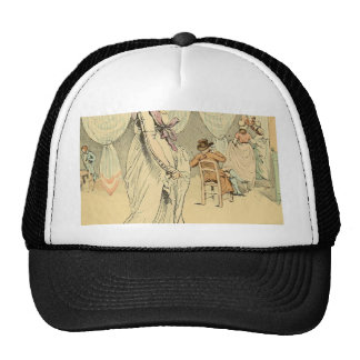 Appointment at the cafe de Tuileries 1898 Trucker Hat