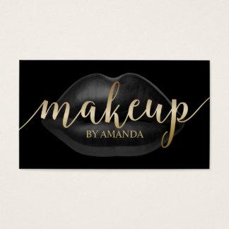Appointment Card | Black Lips Salon Makeup Artist