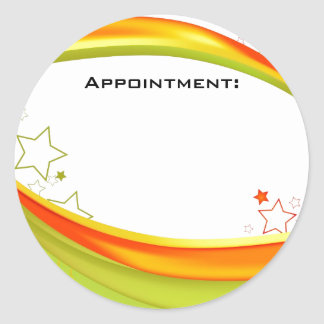 Appointment Sticker