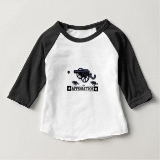 appomattox guns and fire baby T-Shirt