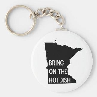 Apportez sur le Hotdish Minnesota drôle Keychain Porte-clef
