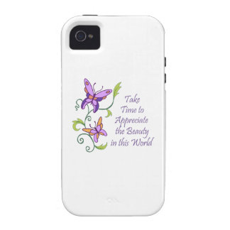 APPRECIATE BEAUTY VIBE iPhone 4 CASES