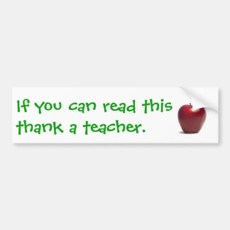 Appreciate Bumper Sticker