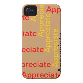 Appreciate IPhone Case Case-Mate iPhone 4 Cases