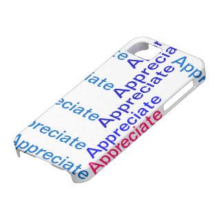 Appreciate IPhone Case iPhone 5 Case
