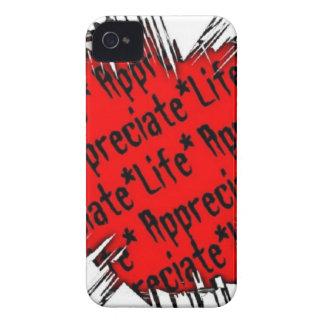 Appreciate Life iPhone 4 Covers