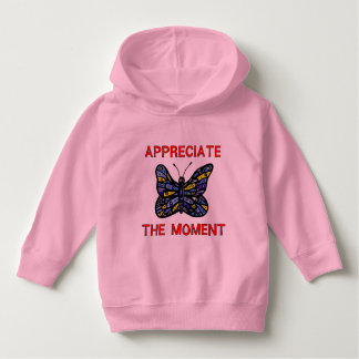 """Appreciate the Moment"" Toddler Pullover Hoodie"