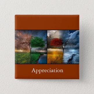 Appreciation 2 Inch Square Button