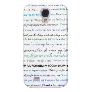 Appreciation series - Thank you dad for... Galaxy S4 Cover