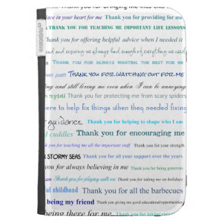 Appreciation series - Thank you dad for... Kindle Keyboard Covers