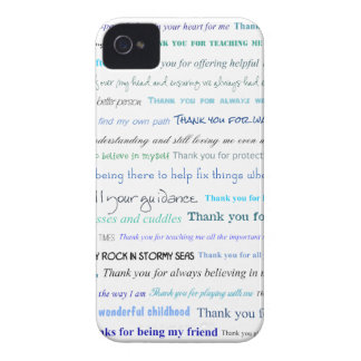 Appreciation series - Thank you dad for... iPhone 4 Case-Mate Cases