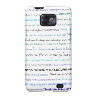 Appreciation series - Thank you dad for Samsung Galaxy SII Cases