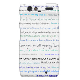Appreciation series - Thank you dad for... Droid RAZR Cover