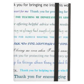 Appreciation series - Thank you dad for... iPad Folio Case