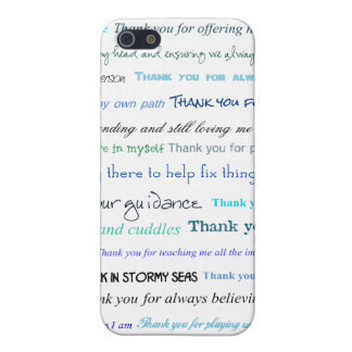 Appreciation series - Thank you dad for... iPhone 5 Covers