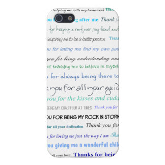 Appreciation series - Thank you dad for Cover For iPhone 5