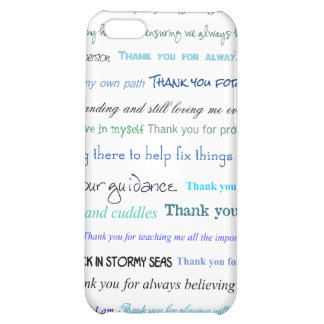 Appreciation series - Thank you dad for... iPhone 5C Cover