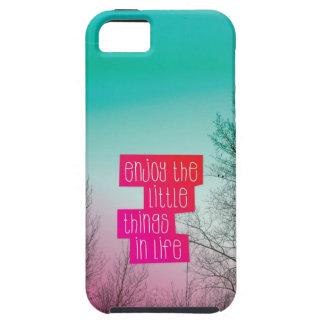 Appréciez le petit coque iphone des textes de cita coques iPhone 5 Case-Mate