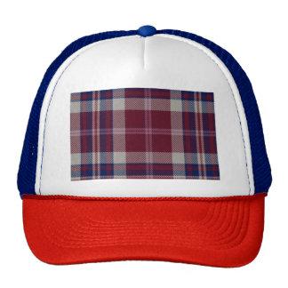 Approach Loch Tartan Plaid Trucker Hat