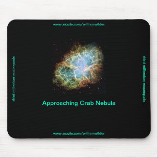Approaching Crab Nebula Mousepad