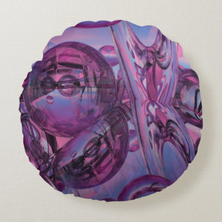 Approaching destiny abstract throw pillow