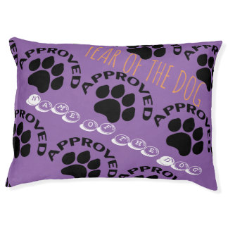 Approved Chinese Dog Year 2018 Personalized Bed Large Dog Bed