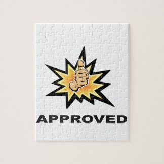 approved thumbs yeah jigsaw puzzle