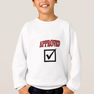 approved work sweatshirt