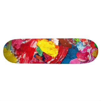 Approvisionnements d'art plateau de skate