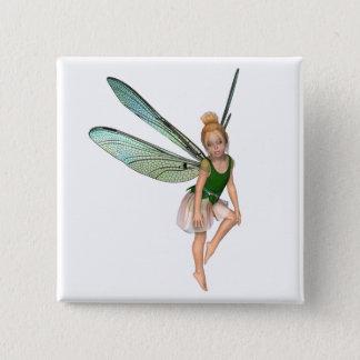 Aprella Fairy 2 Inch Square Button