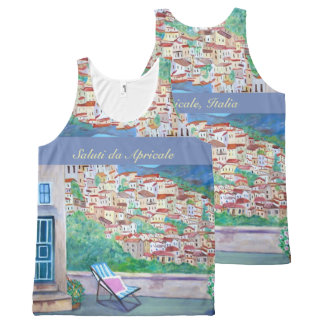 Apricale - All-Over Printed Unisex Tank