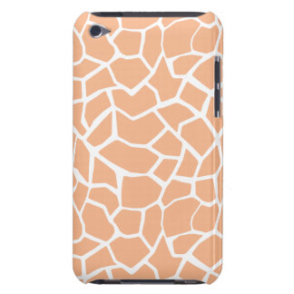 Apricot Color Giraffe Animal Print iPod Touch Covers