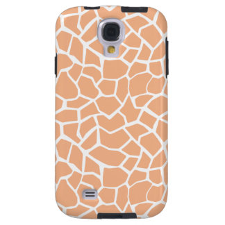 Apricot Color Giraffe Animal Print