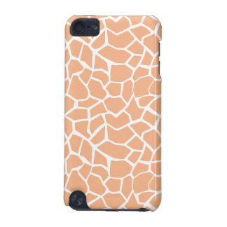 Apricot Color Giraffe Animal Print iPod Touch 5G Case