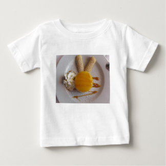 Apricot jam covered ice cream cake baby T-Shirt