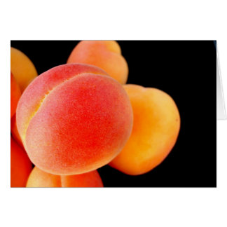 Apricot Note Card - Customized